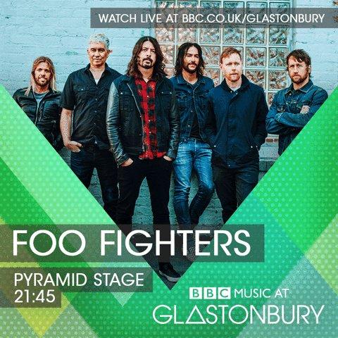 UK! @GlastoFest Pyramid Stage 21:45 Saturday night! @bbcmusic streamin...