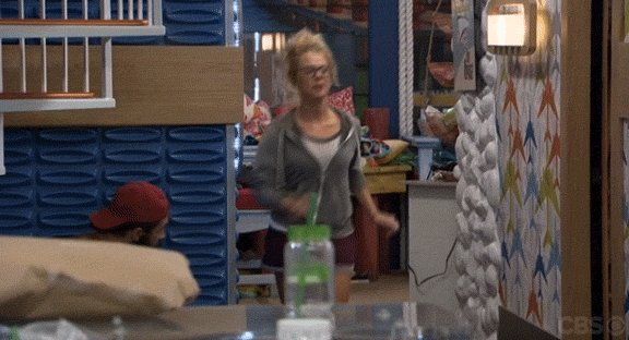 See what goes down in the wee hours of the morning in the #BigBrother...