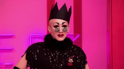 Sasha já chegou de coroa no primeiro episódio pq sabia que era a vencedora ❤ #RuPaulsDragRace #SashaVelour