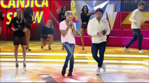 O @marcosmion também entrou na dança com o Zé Maguinho! 😂🎤 #ParabénsMi...