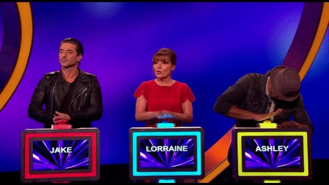 Buzzers at the ready! 5 mins to go!!! #Catchphrase https://t.co/lbUm5H...