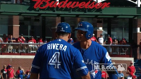 How about that to start us off! Tulo slams a solo shot and we're on th...