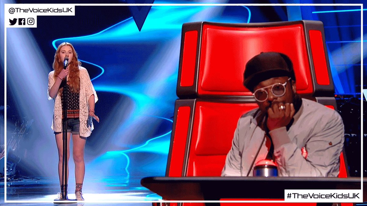 When the multiverse returns your calls 📞😂 #TheVoiceKidsUK @iamwill htt...