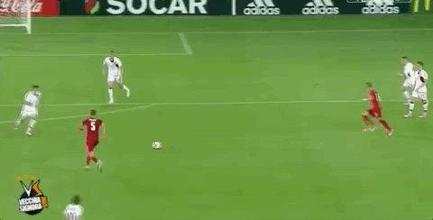 Il gol del neo-bianconero Patrik Schick contro la Danimarca a #EuroU21...