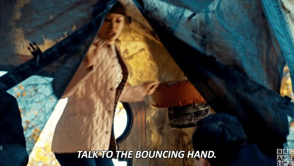 Talk ✋ To ✋ The ✋ Bouncing ✋Hand ✋ #OrphanBlack https://t.co/3OAoBcfFU...