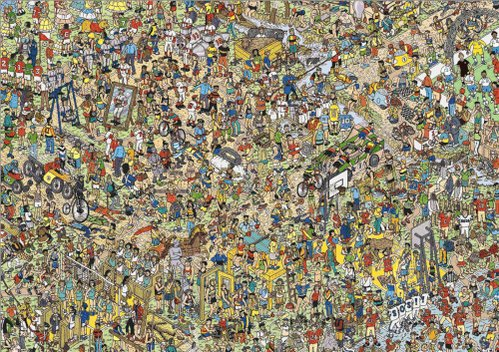 #INeverGetBoredBecause Waldo is really great at hiding https://t.co/so...