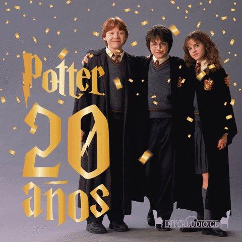 ¡Harry Potter cumple 20 años de magia! 🤩✨.  https://t.co/zYCQIXypev ht...