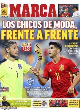El España-Italia sub 21 y los fichajes del Barça, en #LasPortadas del...