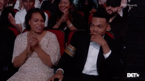 Congratulations to @chancetherapper on winning best new artist! #BETAwards https://t.co/im2A6jgVGp
