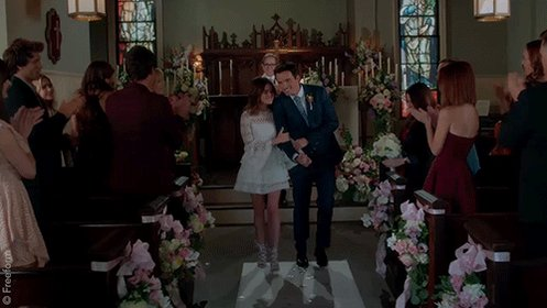 Mr. & Mrs. Fitz, everyone. #Ezria #PLLFinale #PLLGameOver https://...