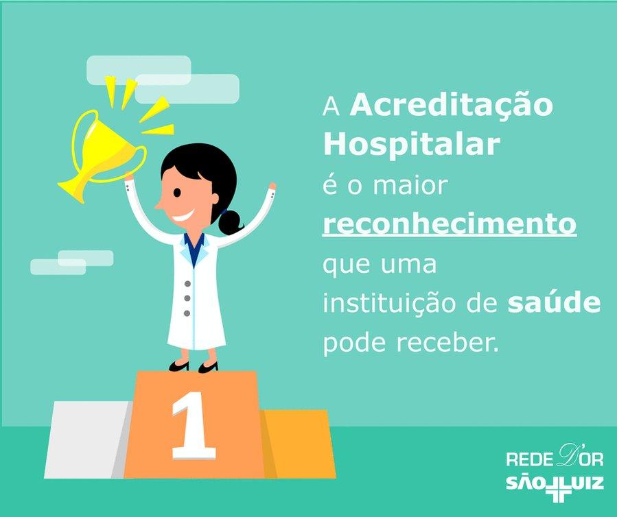 Conheça as acreditações que os hospitais da Rede D'Or São Luiz possuem https://t.co/bCLaPxJztc
