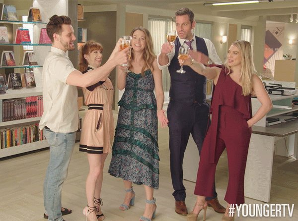 IT'S #YOUNGERTV DAY! RETWEET IF YOU'RE READY FOR A BRAND NEW SEASON TO...