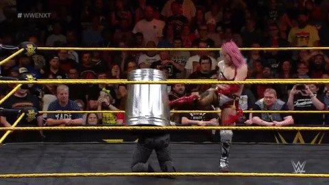 In true @WWEAsuka form! @NikkiCrossWWE #WWENXT https://t.co/gudTC6oVK6