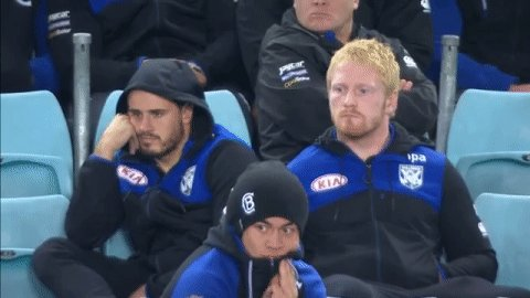 Waiting for kick off like...  #NRLEelsBulldogs #NRL https://t.co/LFAfG...