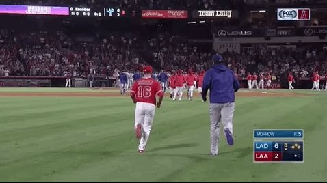 Huston Street and Kenley Jansen are buddies. https://t.co/ttKtS921rz