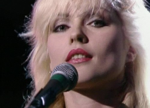 Happy birthday to the great Debbie Harry!  Love you.