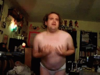 happy birthday Gillian! Hope you\re being spoiled rotten. If not, here is a naked dancing man: