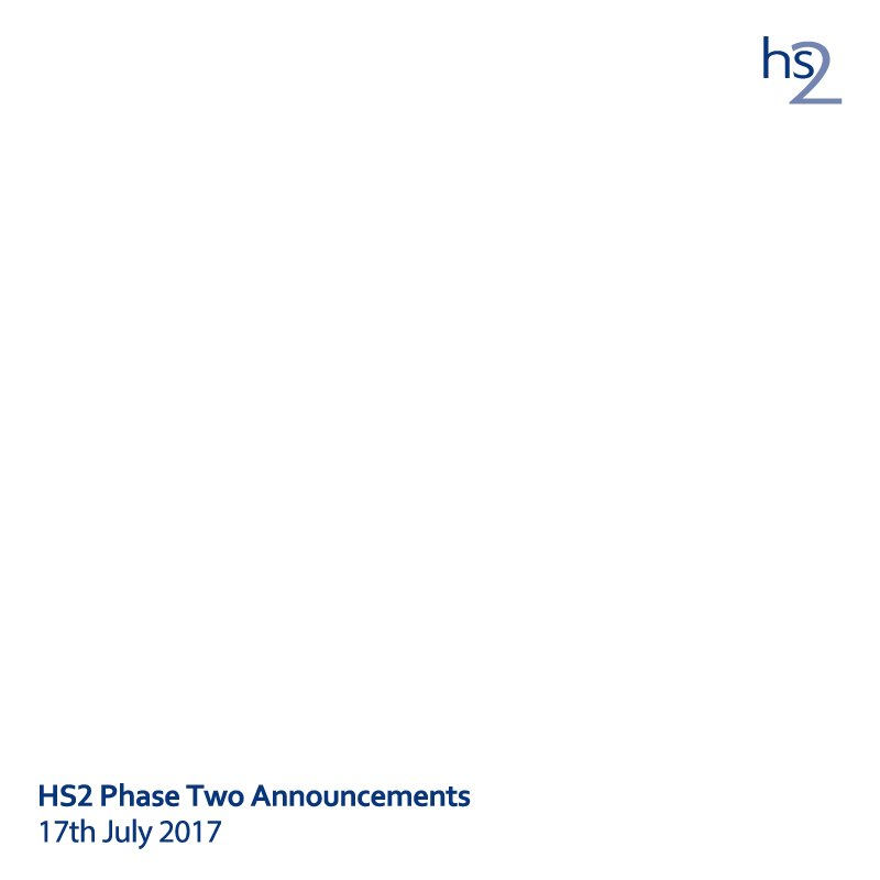 In addition to depositing the #HybridBill for #HS2 #Phase2a today, we have also confirmed the route for #Phase2b https://t.co/zyyKHOQ557