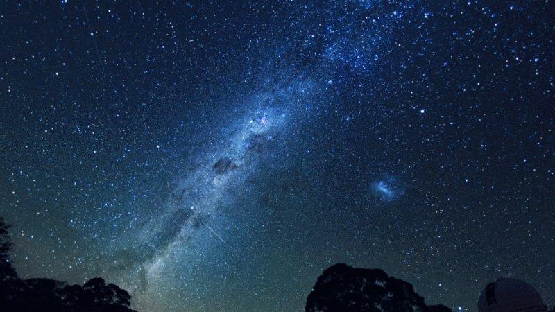 Астрономия для, млечный путь анимация картинки