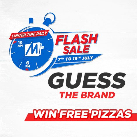 Here we go! #Clue1 - Guess the food brand & #Win #SuperCash for pizza for an entire month! Hurry Up! Answer & #RT https://t.co/moQW6vH8Ba