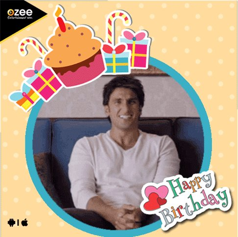 Happy Birthday Ranveer Singh, from all of us here at