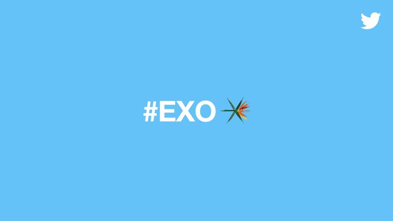 Hey K-Pop fans, welcome @weareoneEXO to Twitter by unlocking this cool  #EXO emoji!