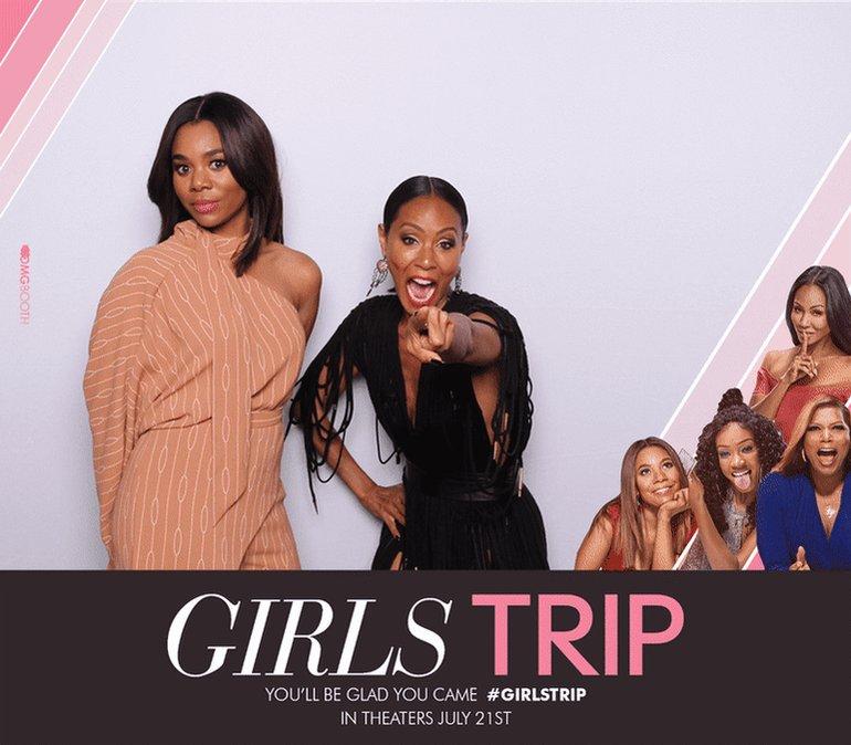 Me and my girl @MoreReginaHall Girls Tripp'n in Atlanta!!! #girlstrip