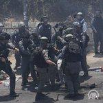 RT @anadoluajansi: İsrail polisi #MescidiAksa'ya ç...