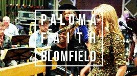 Happy birthday to Paloma Faith Blomfield you are my world