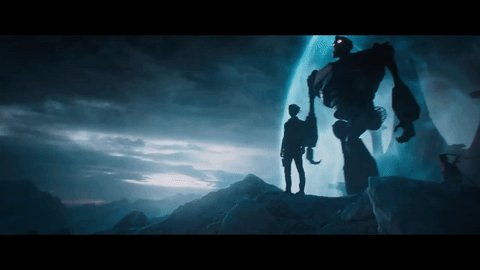 Iron Giant's appearance in Ready Player One. https://t.co/gSyPOAxere #OASIS #VR #SDCC