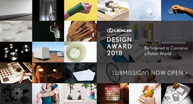 The concept of 'CO-' inspires the #Lexus Design Award 2018. Details on how to enter: https://t.co/DBn4ZY1SOK.