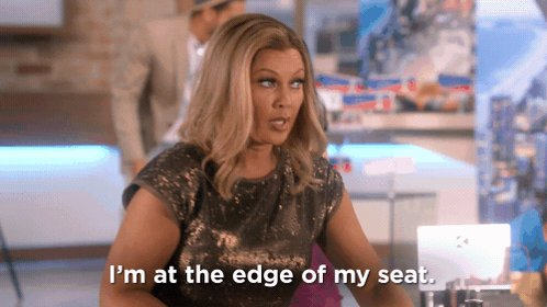 Hang on to your chairs, divas. An all-new #DaytimeDivas starts in 2 ho...