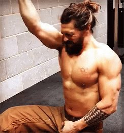 Happy birthday! Jason Momoa lifts for you gurl