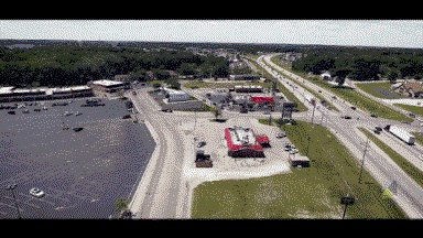 Drone Tour in #Warsaw, IN! Join the @Kmart shopping center tenants of @Hallmark, @DollarGeneral, and more! https://t.co/KpAbyO1rGn