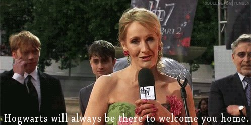 And, also, happy birthday to J. K. Rowling.