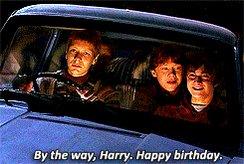 Happy birthday, and Harry Potter!