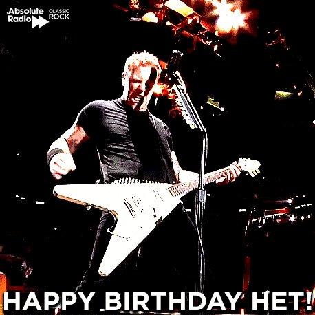 Happy birthday to the master of riffs, James Hetfield of YEAHH!