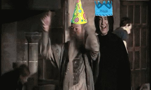 Happy birthday to my fellow Harry Potter fan girl ! I hope today is magical