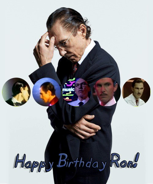 A very happy birthday to the absolute genius that is Ron Mael