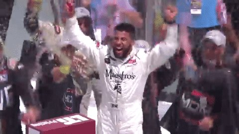 A story of perseverance. Congrats @BubbaWallace! https://t.co/Gcrcw2t0xz