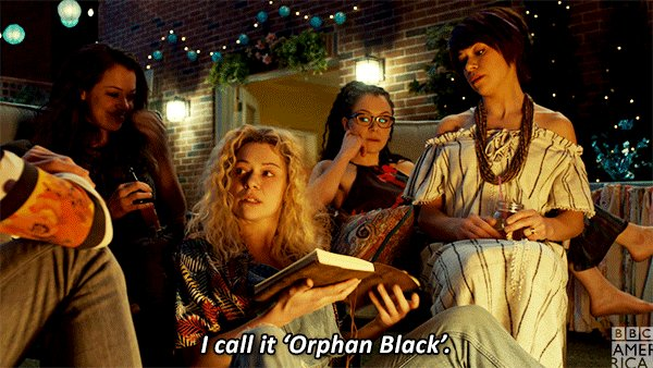 Yeah who would name something #OrphanBla...
