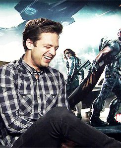 Ahhhhhh !! Sebastian Stan is 35 now ! Man I love that man happy birthday to that cutie