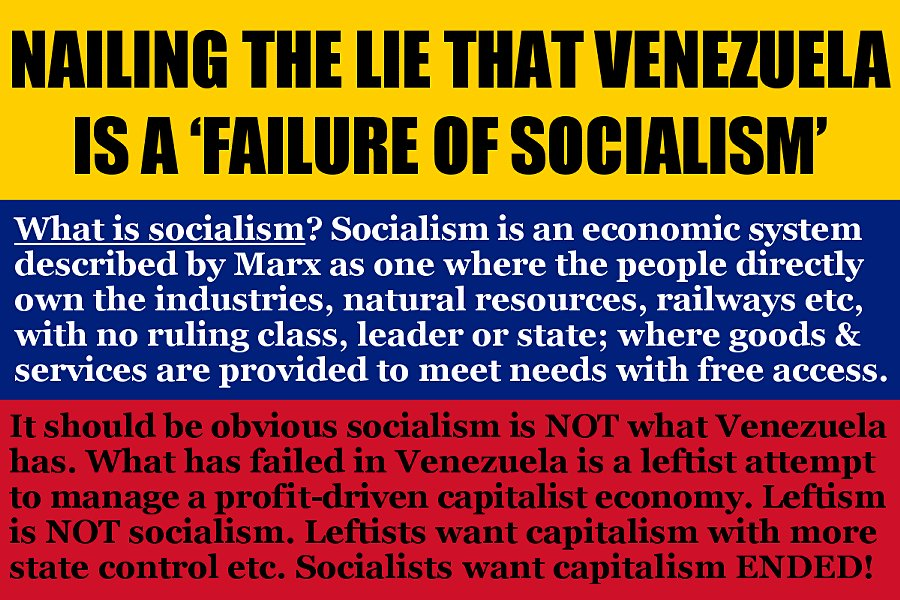 the socialist party on twitter venezuela is what happens when