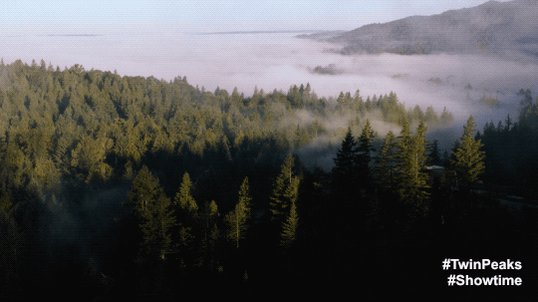 Approaching #TwinPeaks. 2 HOURS to go! #Part15  #Showtime https://t.co...