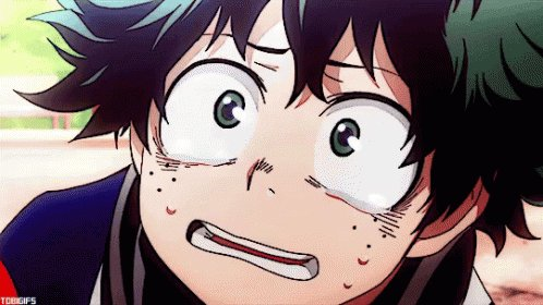 Me: 'I'm taking a Buzzfeed quiz on which My Hero Academia character I am.' Mandy: [barely audible] 'I...kindof wanna watch that...' Me:
