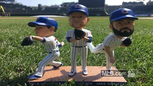 The three-headed bobble, starring your starting aces! RT by 5 p.m. CDT...