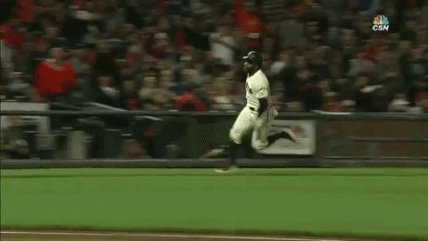 Denard Span almost got run over as he scored. https://t.co/VKd2sKW85L