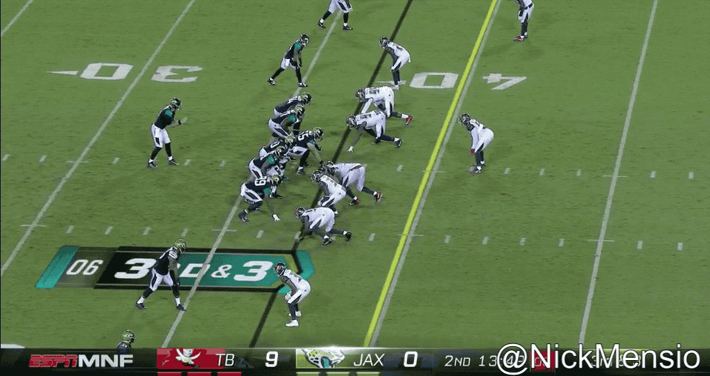 The worst of Blake Bortles' numerous bad throws Thursday night. #Jaguars https://t.co/Cm3oNe20ze