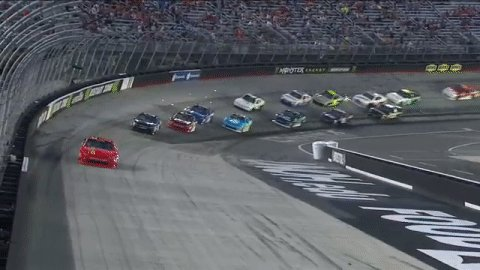 .@J_Allgaier is out front in STAGE 2. #FoodCity300  Follow: https://t....