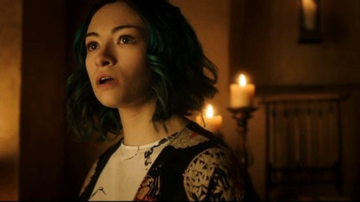 When you follow someone online and then meet them in RL. #DarkMatter h...